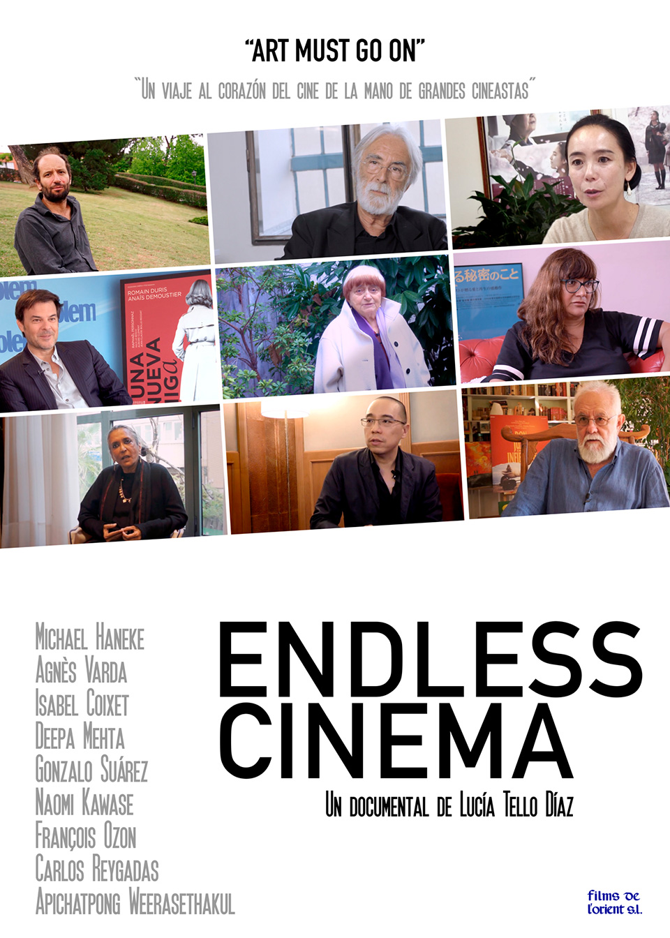 Cartell Endless Cinema